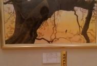絵画の部 椋の木(むくのき) 高田 忠 88歳 延岡市