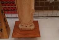 彫刻の部 阿弥陀如来立像 中瀬 博光 70歳 椎葉村