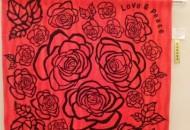 手芸の部 紅色の花束を君に 藤岡郁子 63歳 日之影町